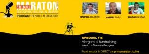 Podcast #15 – Alergare si fundraising