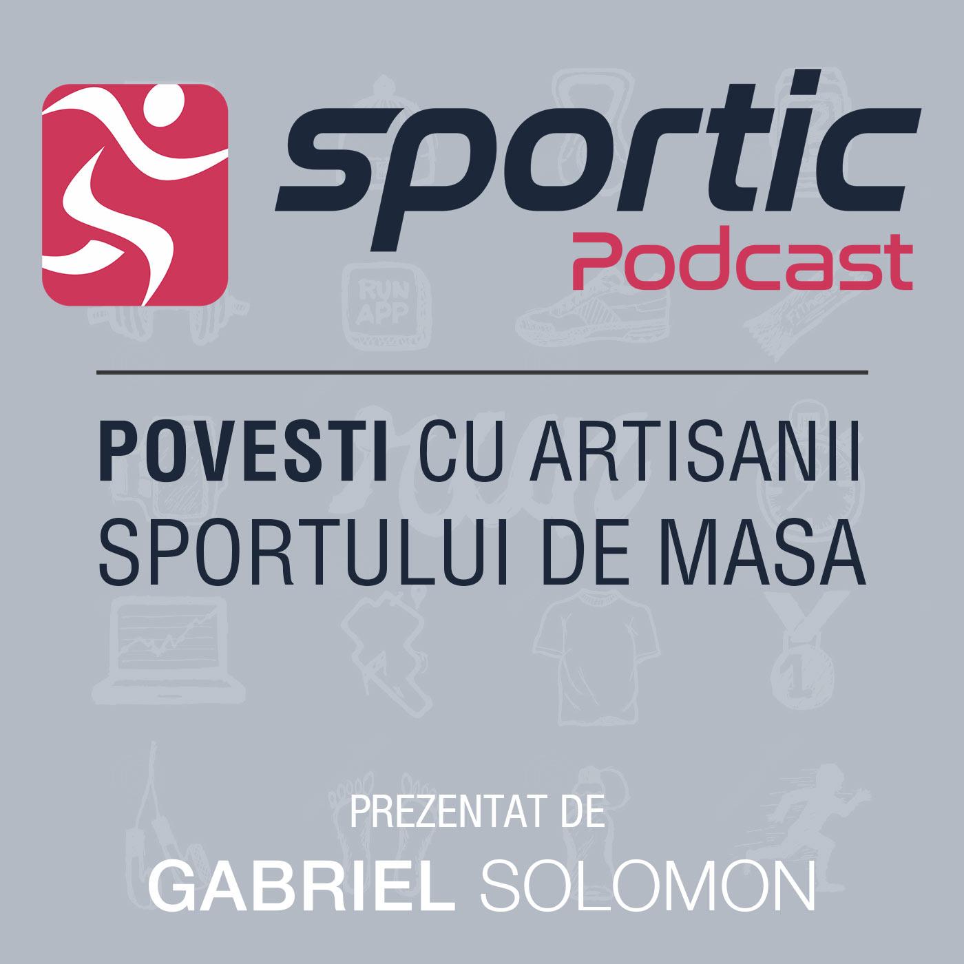 Podcast | Sportic – din pasiune pentru sport
